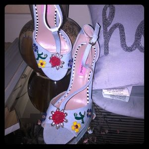 Betsey Johnson Blue Jean heels